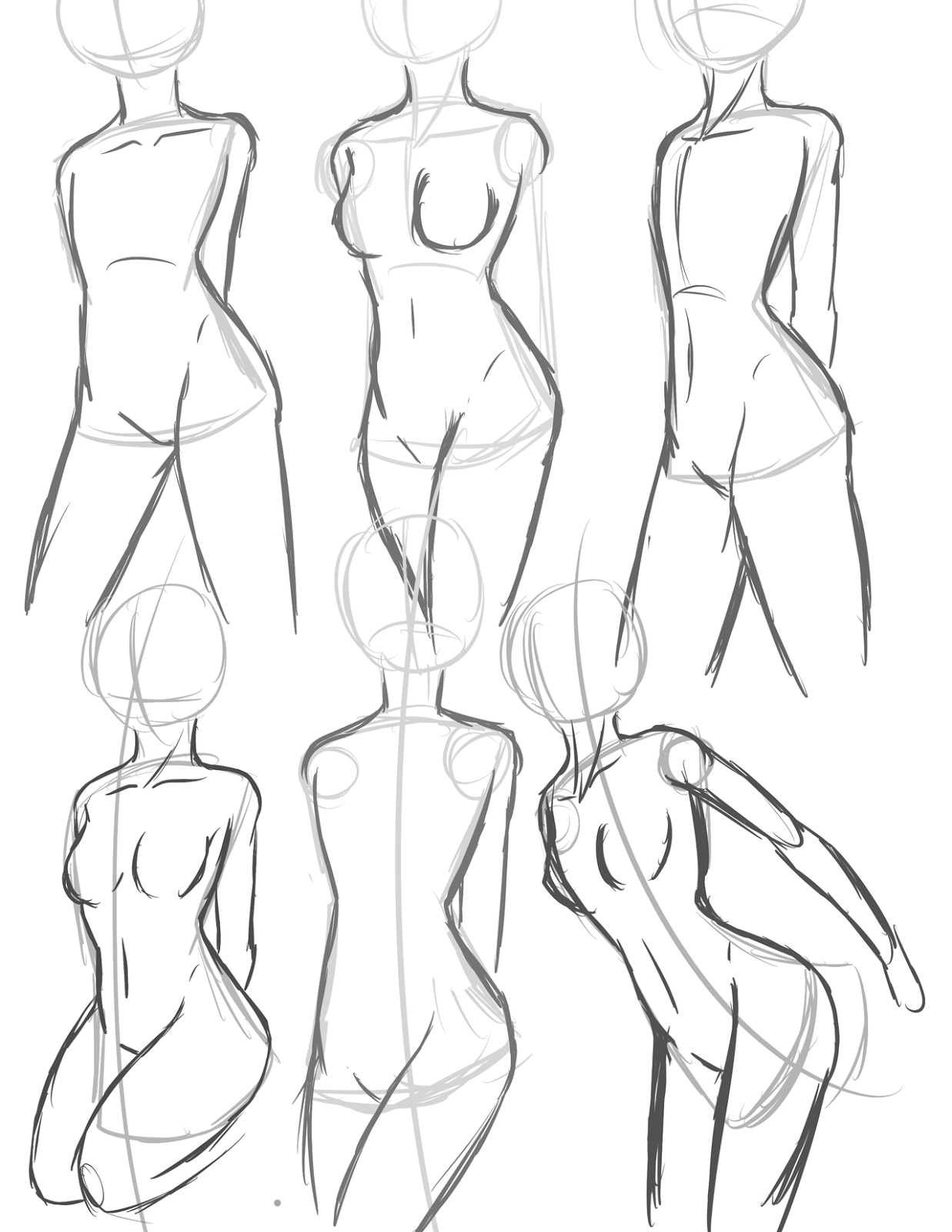 1237x1600 Anime Anatomy Basic Drawing Tutorial Japanese Anime Art