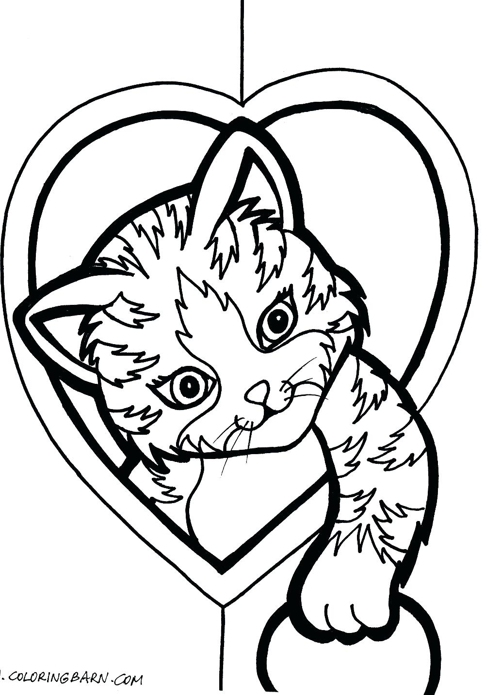 1000x1434 Heart And Snowman Coloring Pages To Print Anatomy Hearts Roses