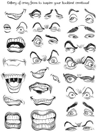 334x452 Character Design Collection Eyes Anatomy Drawing
