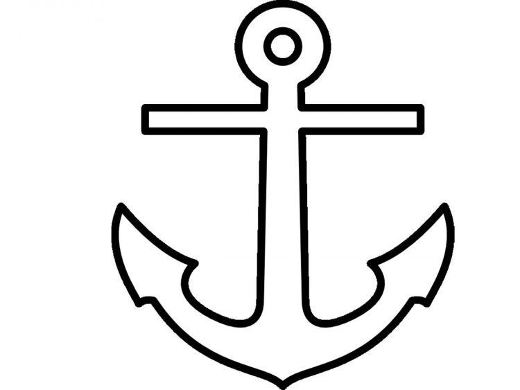 750x563 Drawing Simple Anchor Tattoo Meaning Together With Simple Anchor