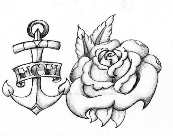 600x471 Anchor Drawings