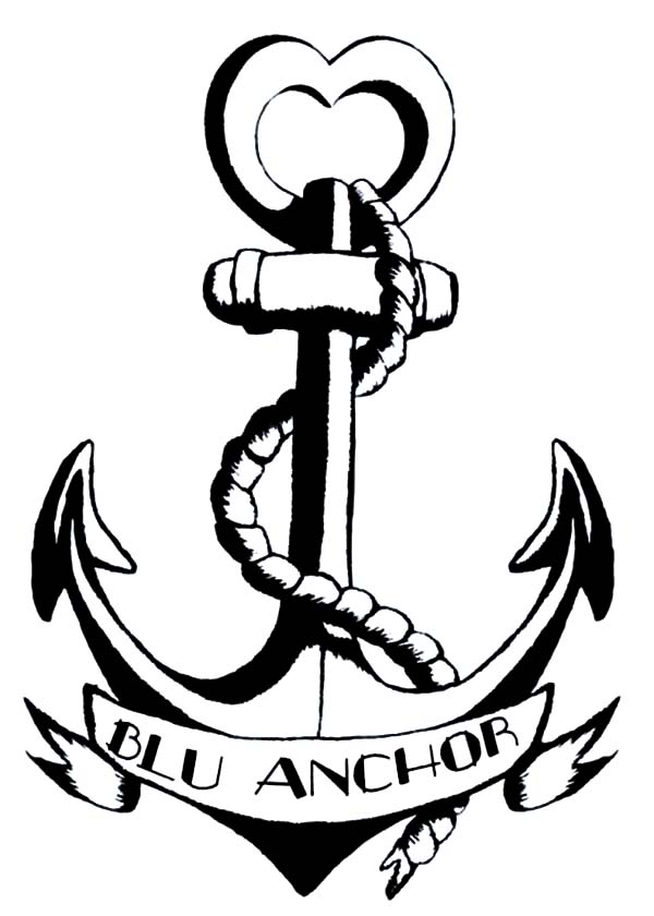 600x840 How To Draw Anchor Coloring Pages Bulk Color