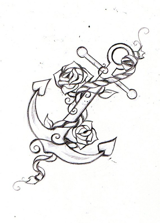 Anchors Drawing at GetDrawings.com | Free for personal use Anchors ...