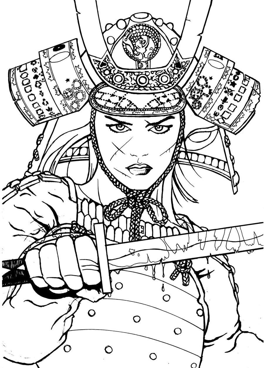 900x1254 Ancient Warrior By Skiko