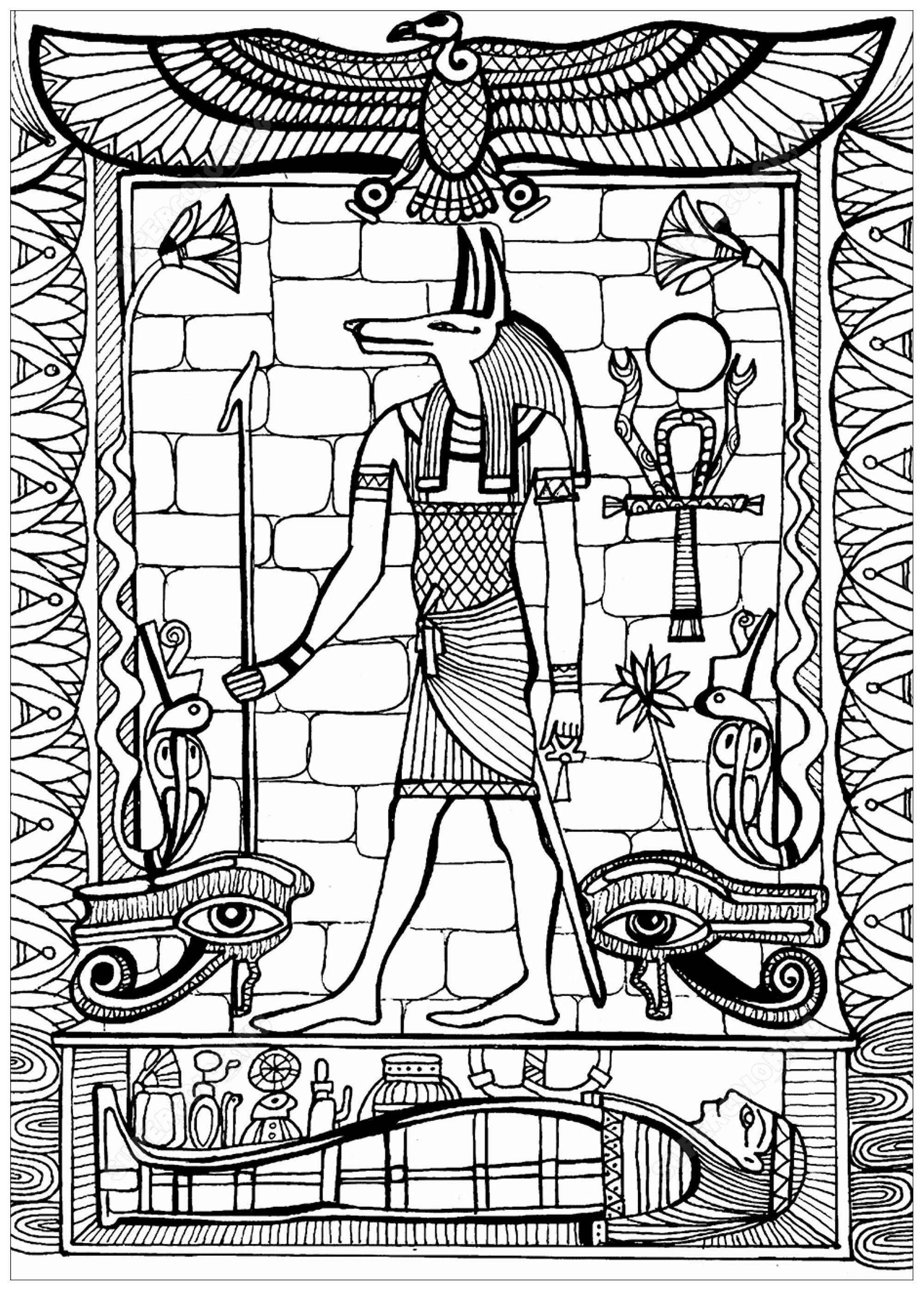 2000x2792 Anubis God Of Ancient Egypt Egypt Amp Hieroglyphs