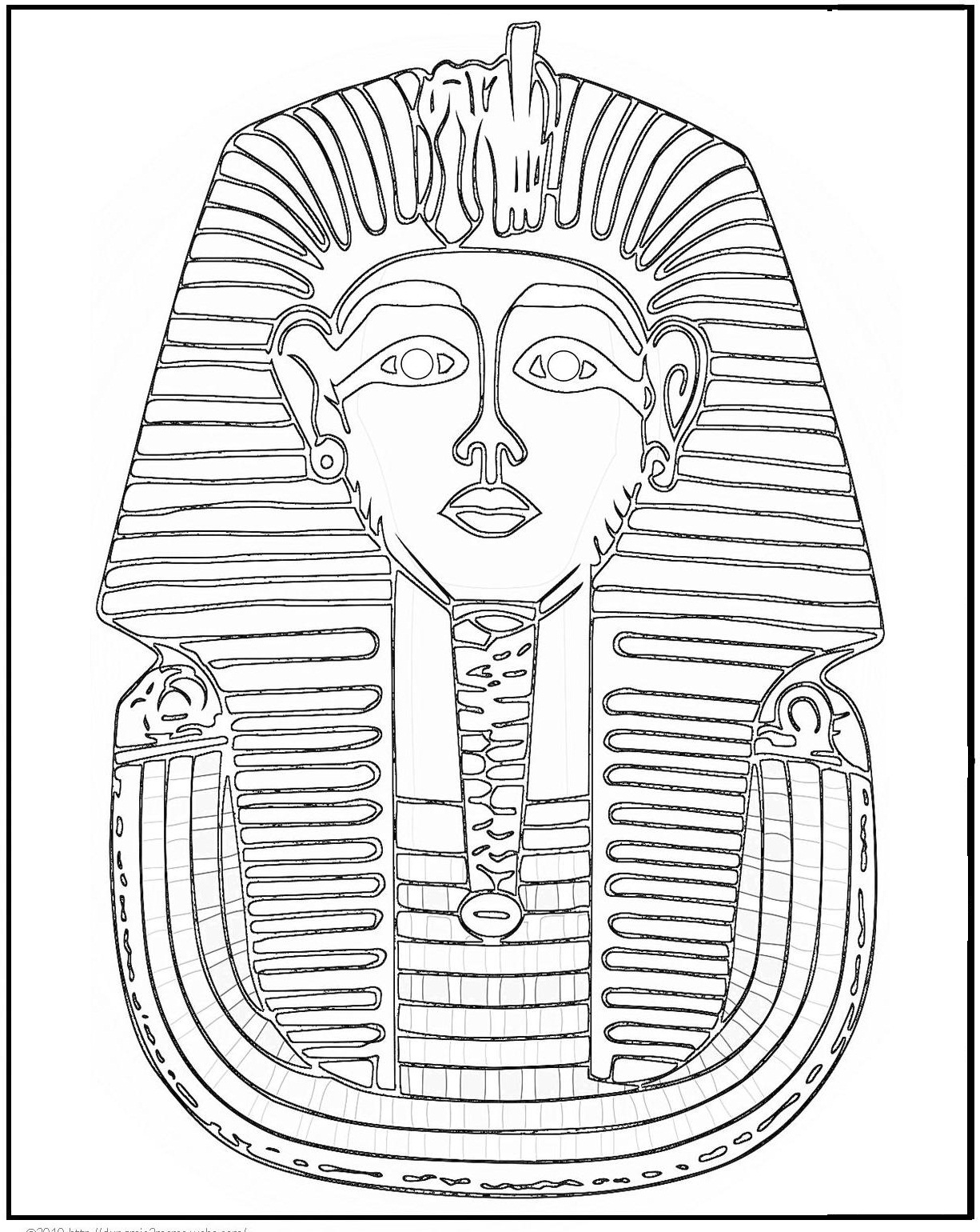 1226x1540 Free Printable Ancient Egypt Coloring Pages For Kids