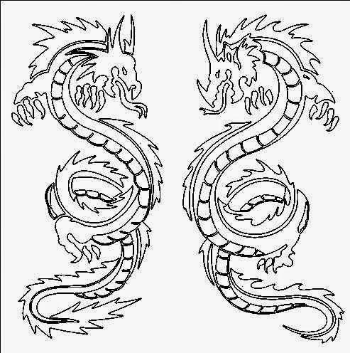 493x496 The Helpful Art Teacher Dragons Of Ancient China