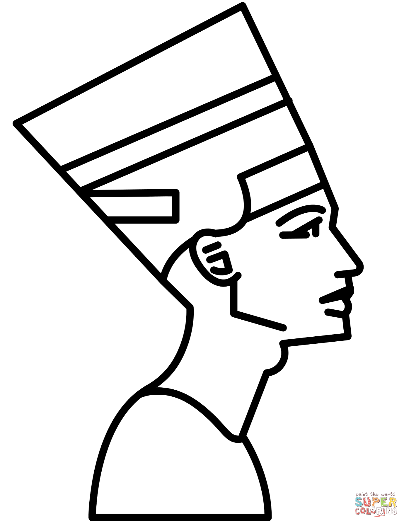 Egypt Gods Coloring Pages