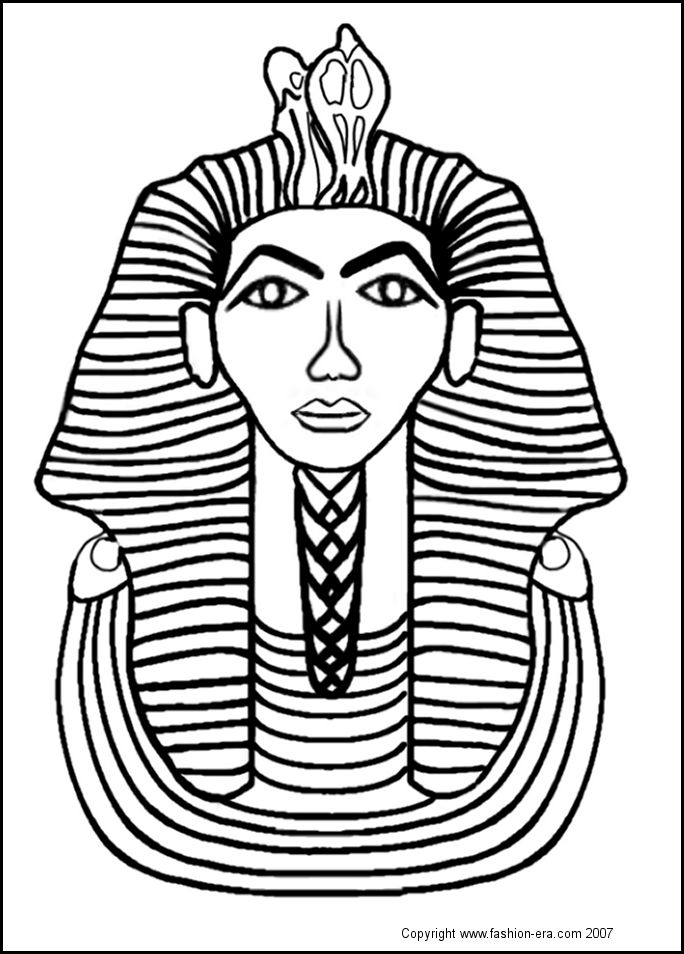 Khufu Egypt Coloring Pages - Worksheet & Coloring Pages