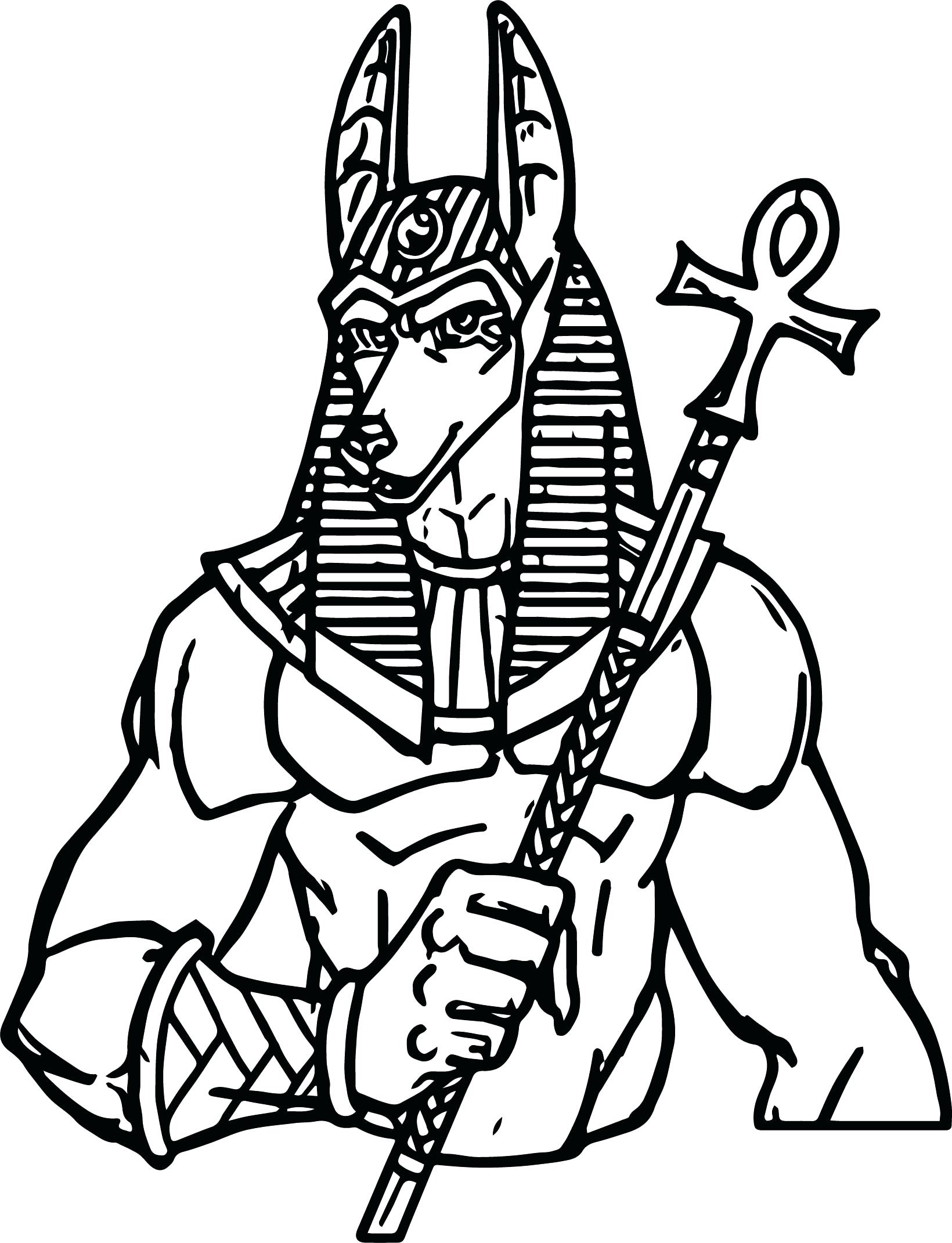 1640x2142 Coloring Ancient Egypt Coloring Page