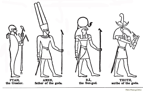 Ancient Egyptian Drawing