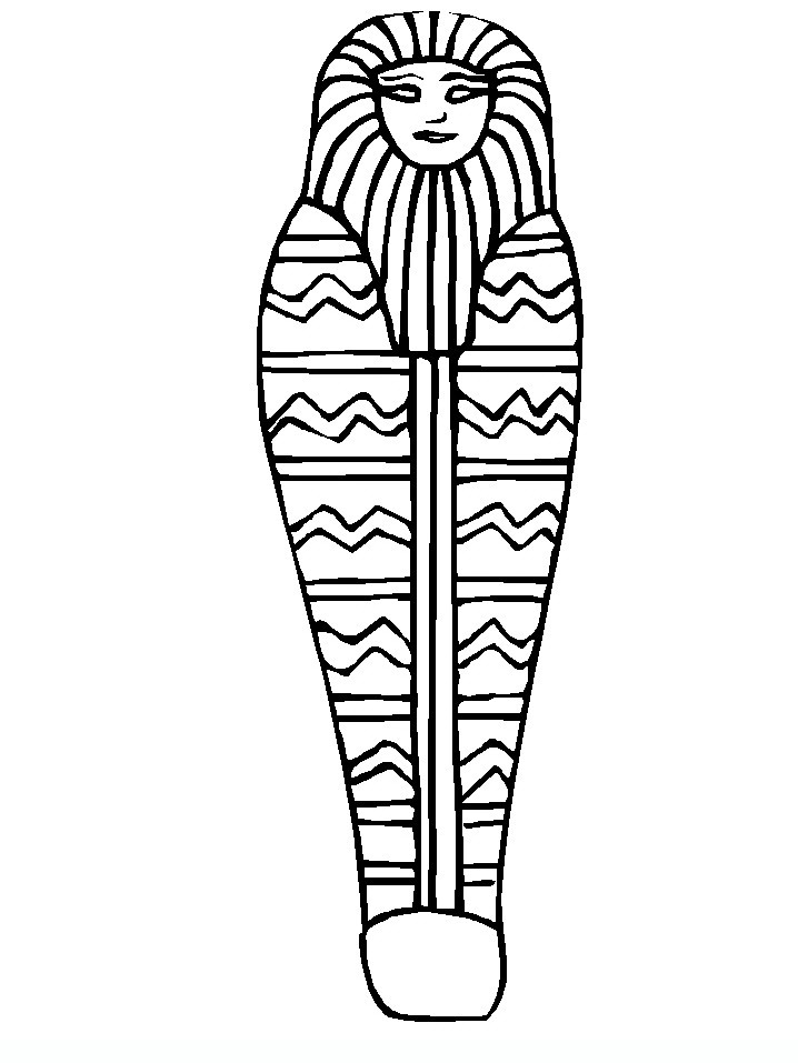 718x957 Egyptian Drawings 015 Teens Coloring Pages