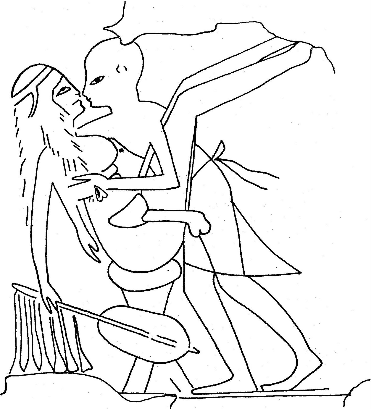 1451x1600 Most And Popular Sexual Life In Ancient Egypt I. The Attitude