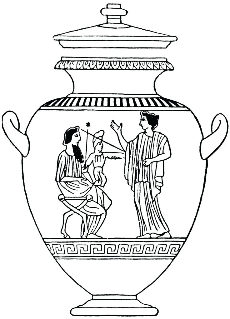 free ancient greece coloring pages - photo#8