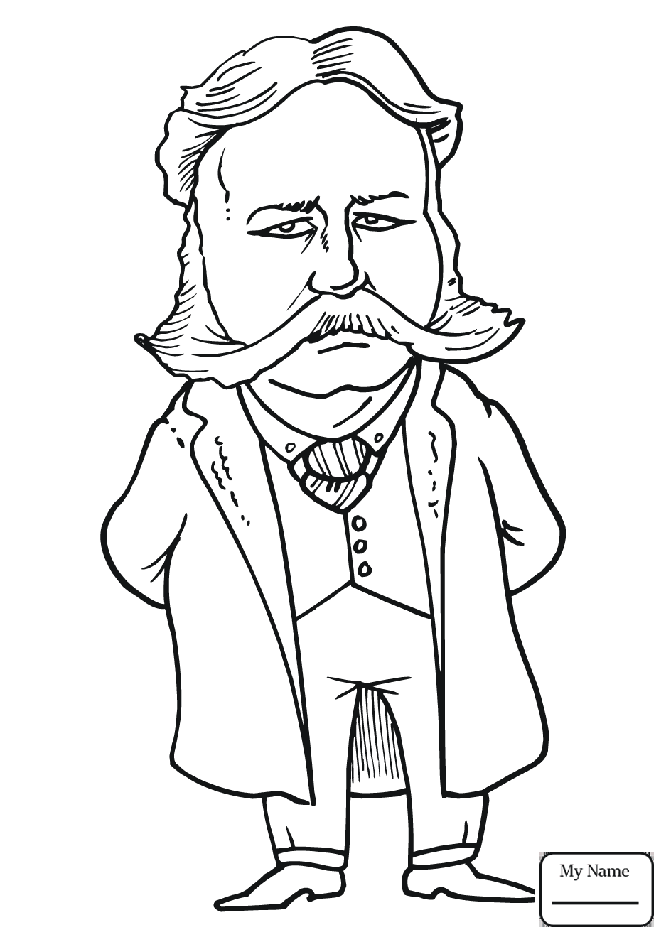 Andrew Carnegie Coloring Pages - Worksheet & Coloring Pages