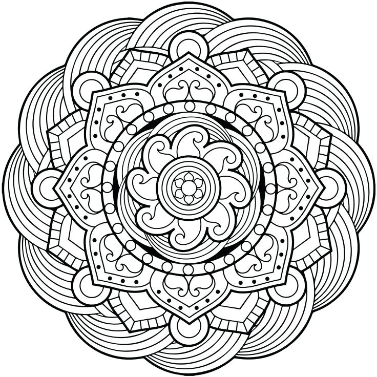 736x736 Mandala Coloring Pages Online Free For Adults Android And Windows