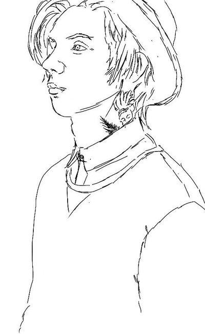 400x652 Andy Biersack Sketch By Artofanaesthesia