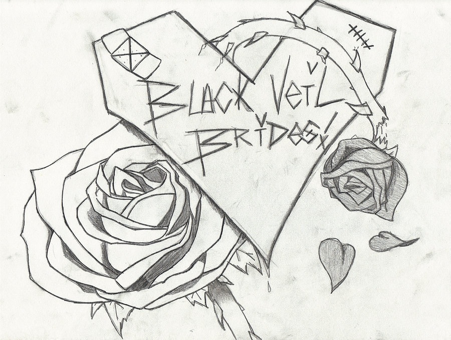 900x679 Black Veil Brides Drawing. Really Cute) Best Bands