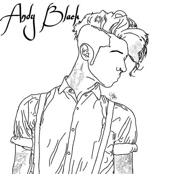 564x564 Fanart (Drawing) Of Andy Biersack