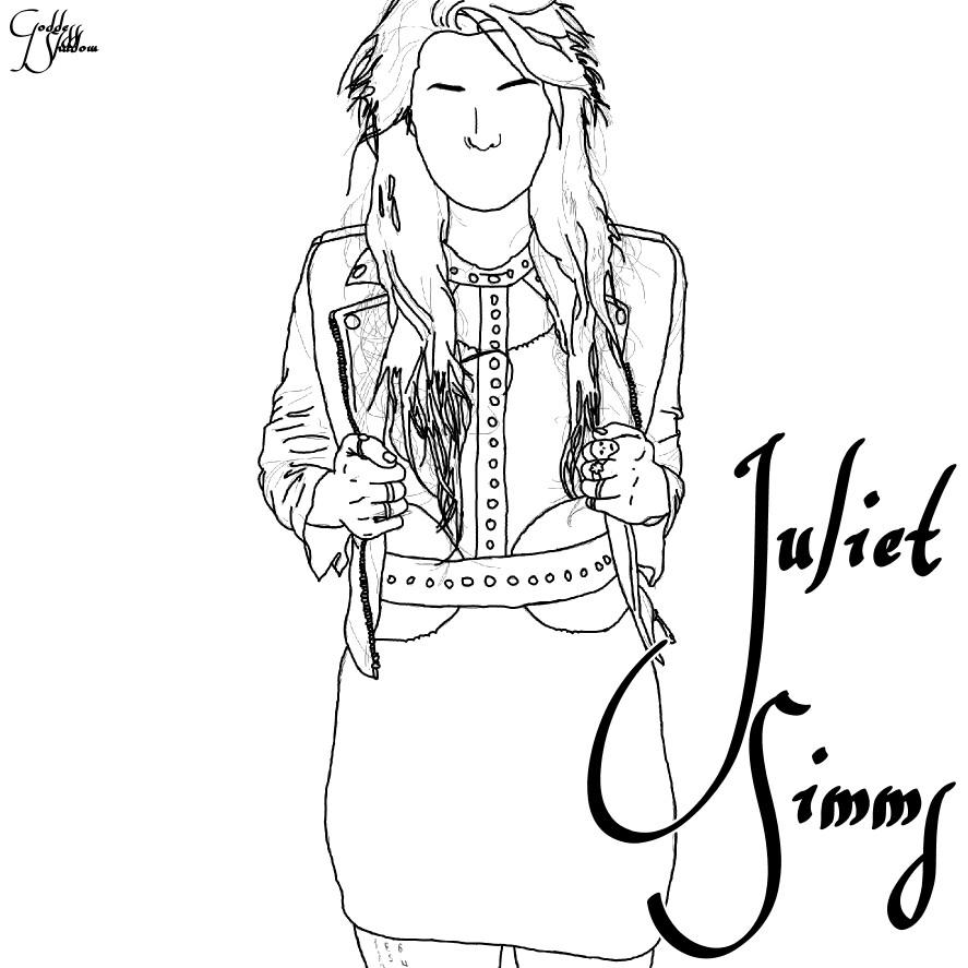 887x887 Fanart (Drawing) Of Juliet Simms Fanarts Andy Biersack