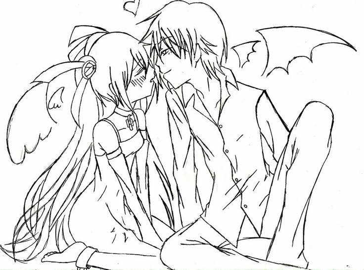 736x547 95 Best Angel Amp Devil Images On Anime Art, Anime Girls
