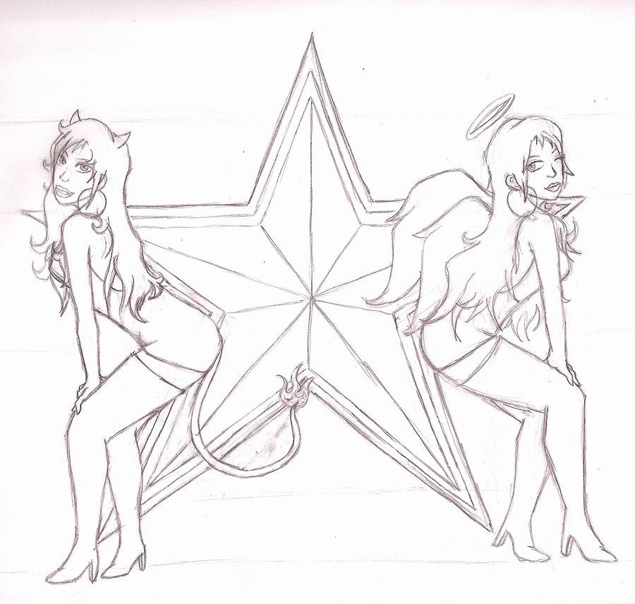900x856 Devil And Angel Re Uploaded By Twilightrose15