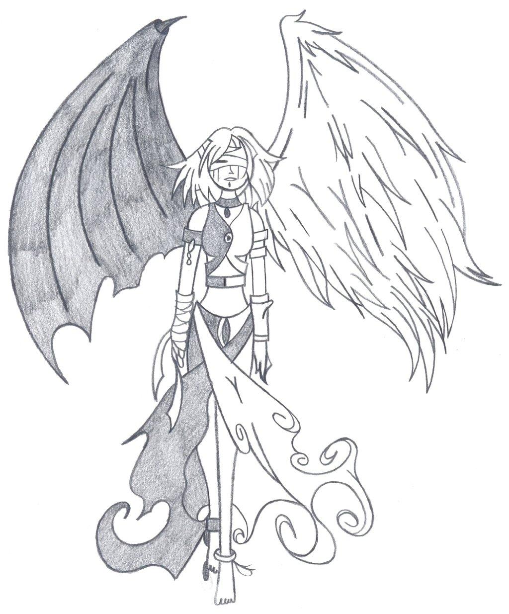 1024x1235 Devil Angel By Fallensamurai22