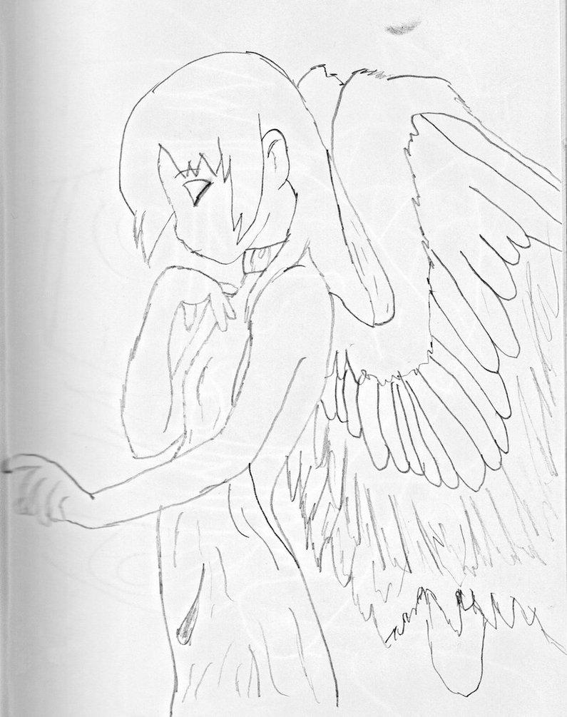 795x1005 Angel Anime Girl By Tatsururawrz