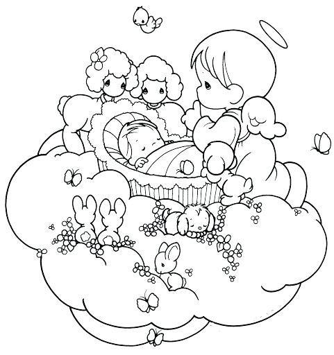 481x512 Angels Coloring Pages As Baby Angel Coloring Pages Guardian Angel