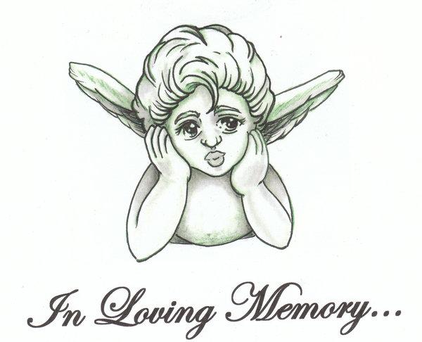 600x486 Baby Angel Tattoo Drawings Elaxsir