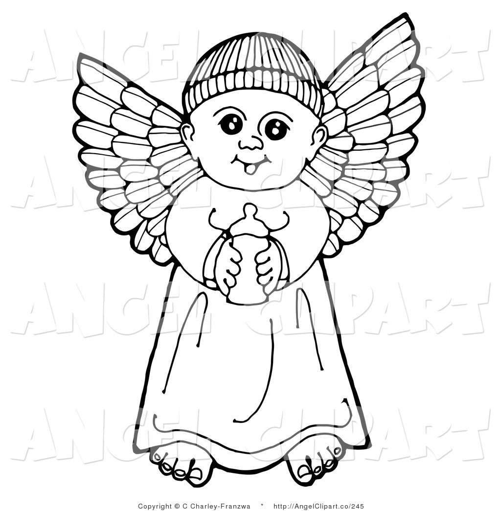 1024x1044 Clip Art Of A Black And White Pen And Ink Drawing Of A Happy