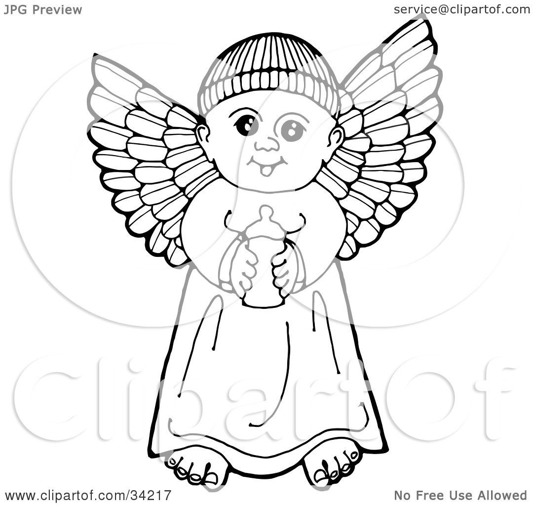 1080x1024 Clipart Illustration Blacknd White Pennd Ink Drawing
