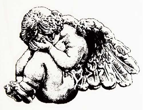 500x383 Grace Work Rakuten Global Market Crying Rubber Stamp Angel Baby