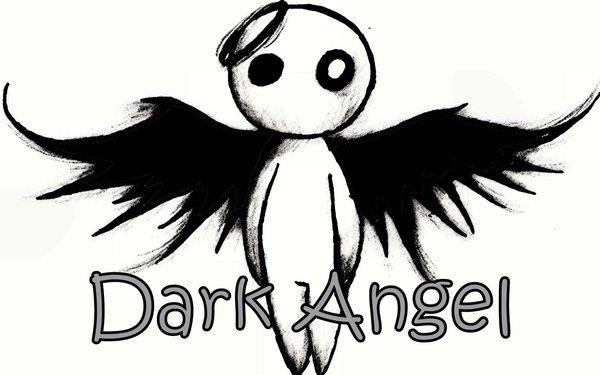 600x375 Drawn Angel Black Angel