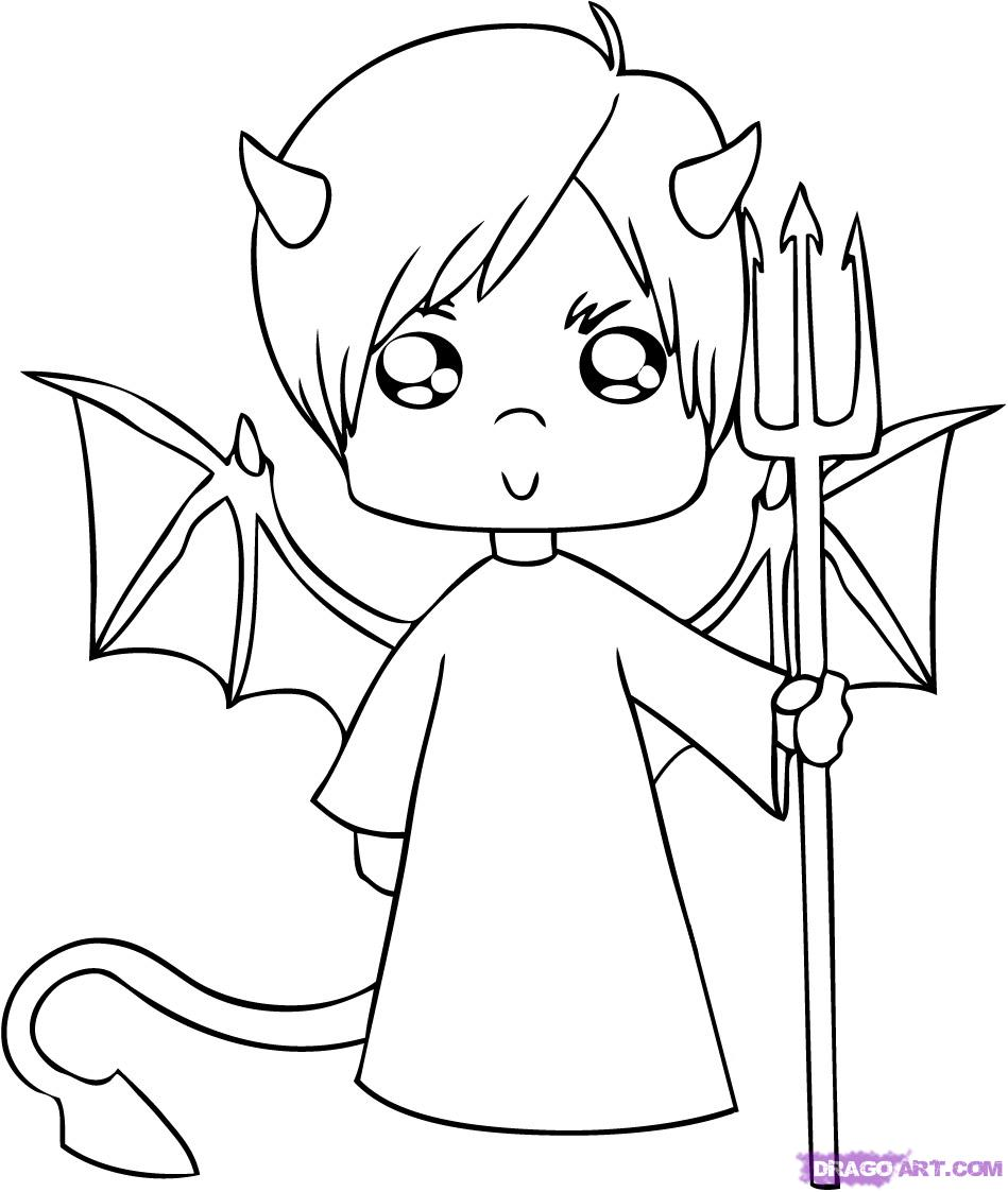 949x1123 Drawn Angel Cartoon