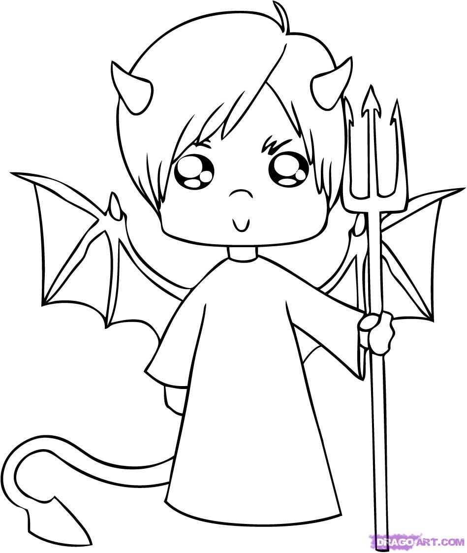 949x1123 Drawings Of Cute Angel Boys Drawn Angel Cartoon