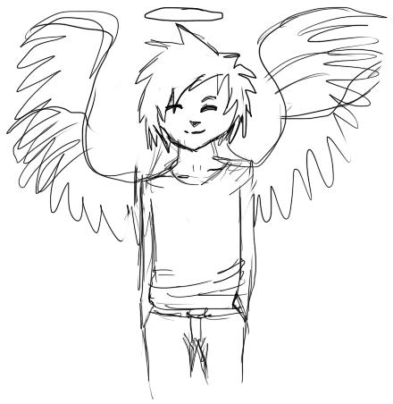 440x452 Angel Boy By Yakkami