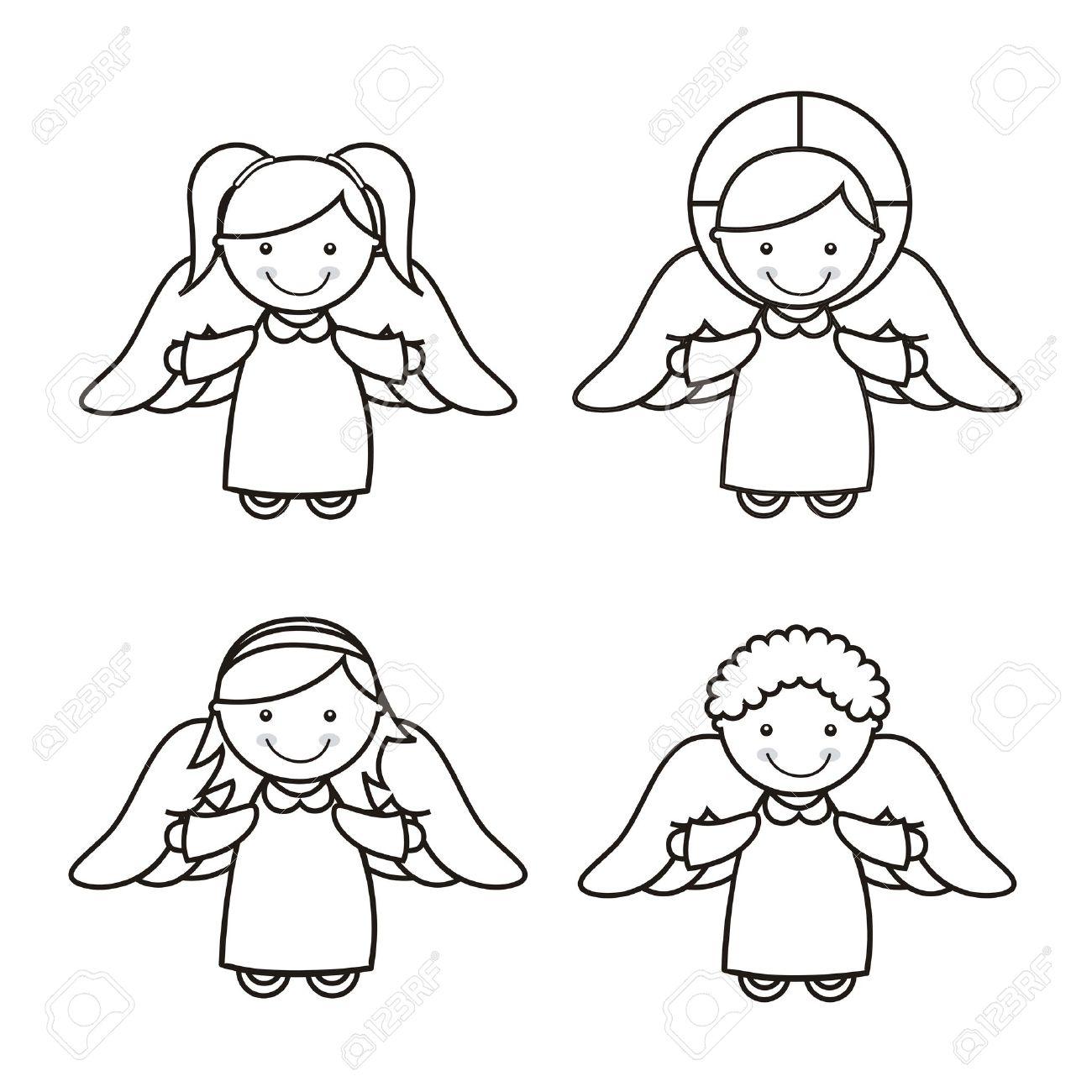 1300x1300 Angel Cartoon Image Group