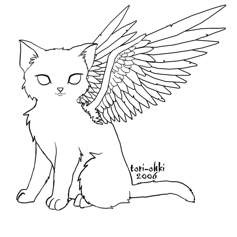 800x800 Angel Pictures To Color Allofpicts