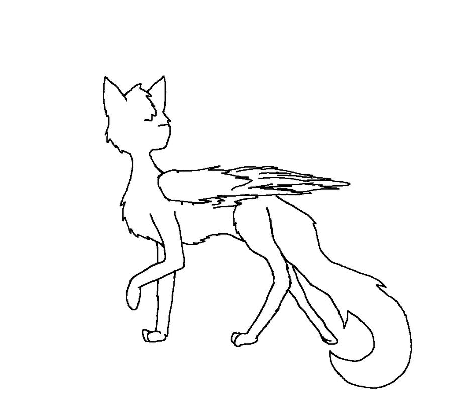 900x810 Angel Cat Base By Grapethepurplecat