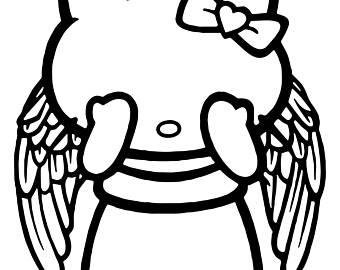 340x270 Hello Kitty Angel Etsy