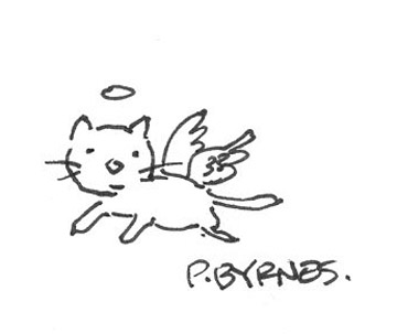 360x303 Mike Lynch Cartoons Cat Sketches From The 2004 Reubens