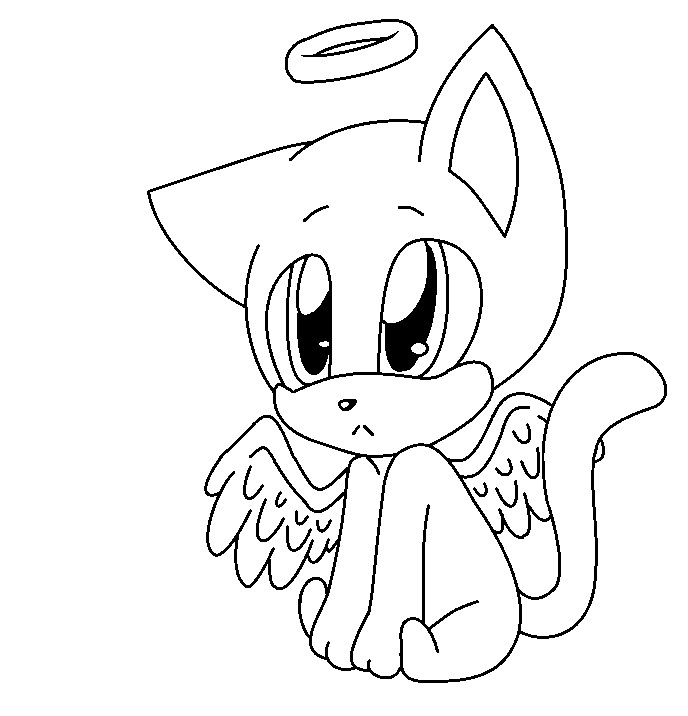 688x716 Angel Cat With Wings Base By Jassythehedgewolf