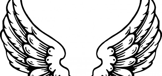 520x245 Angel Cat Coloring Pages Angel Kitty Coloring Pages