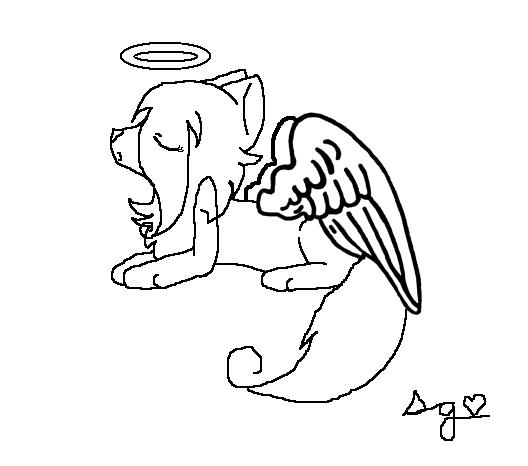 528x466 Angel Cat By Hetaliagirl470