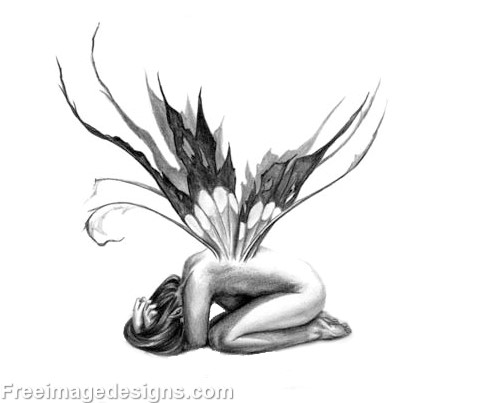 478x403 Crying Fairy Image Design Download Free Image Tattoo Designs
