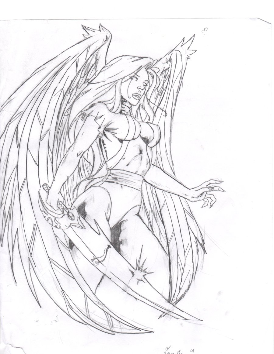 900x1165 Dark Angel Drawing Pictures