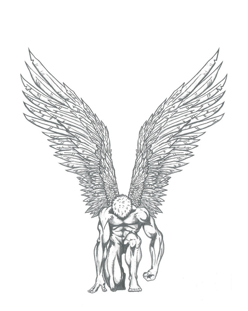 800x1000 Rising Angel By Graphisteetplus