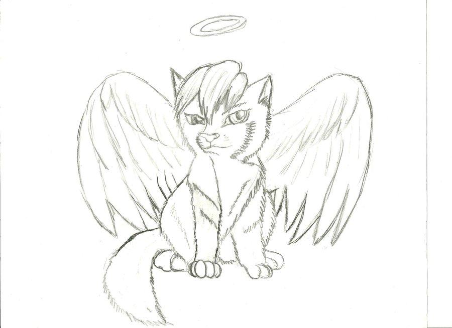 900x654 Anime Angel Wolf Puppy By Lucutiscody