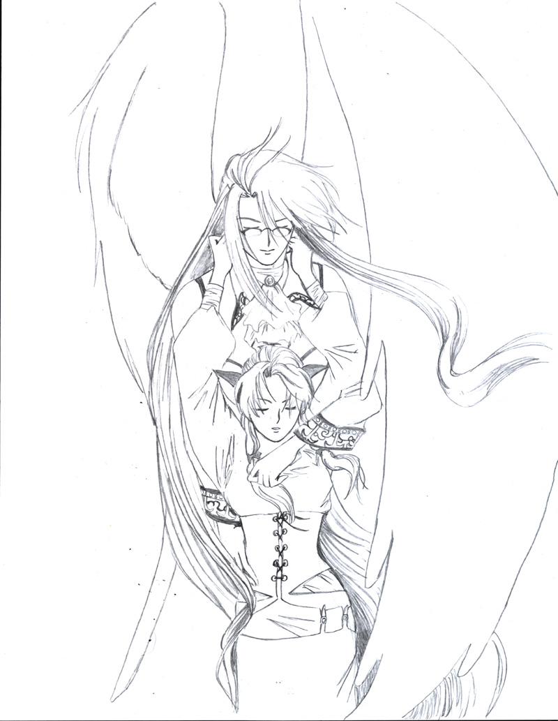 800x1033 Love Of A Guardian Angel By Happyki Lin